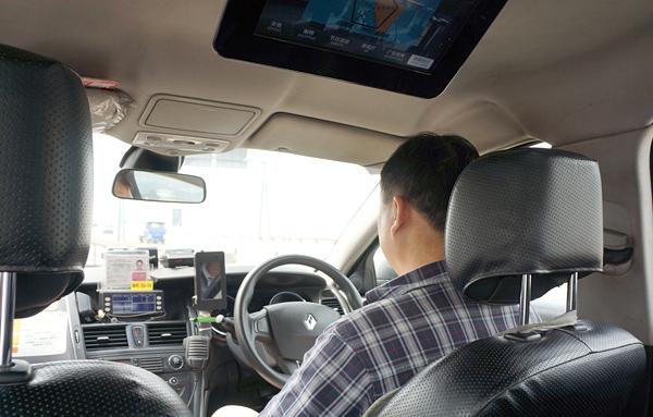 マカオのタクシー