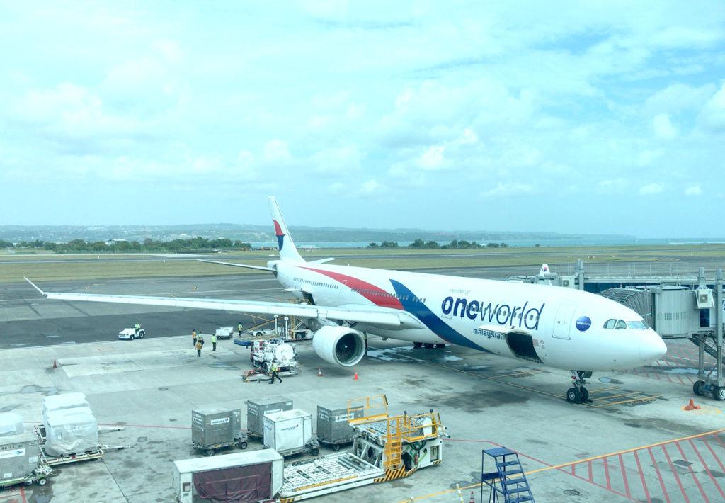 マレーシア航空のボーイング737-800型機
