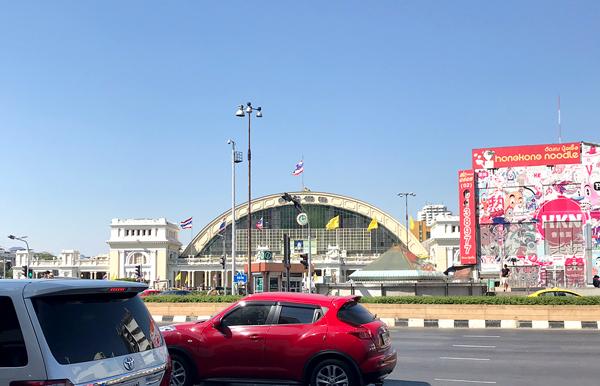 国鉄フアランポーン駅