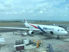 マレーシア航空のエアバスA330型機