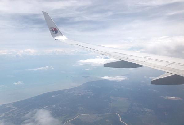 飛行中の様子