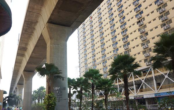 ホテル周囲の様子