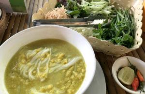 カンボジアの麺料理、ノムバンチョック