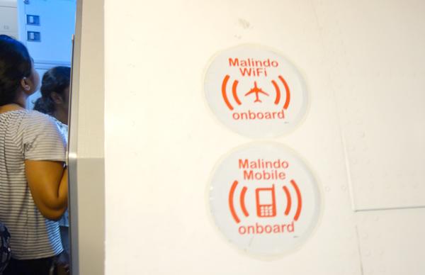 機内Wi-Fi完備の機材