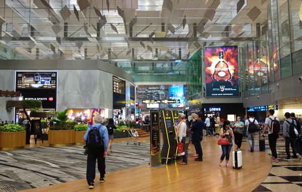 ターミナル3のエアサイド