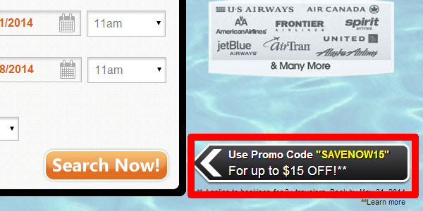 one Travel coupon