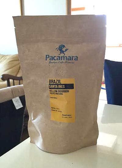 ブラジル・サンタイネスのコーヒー豆