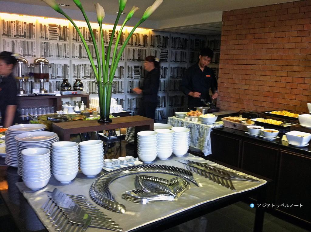 ページ10ホテル・パタヤの朝食ブッフェ