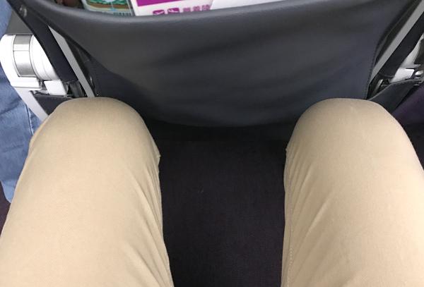 ピーチ機内の座席