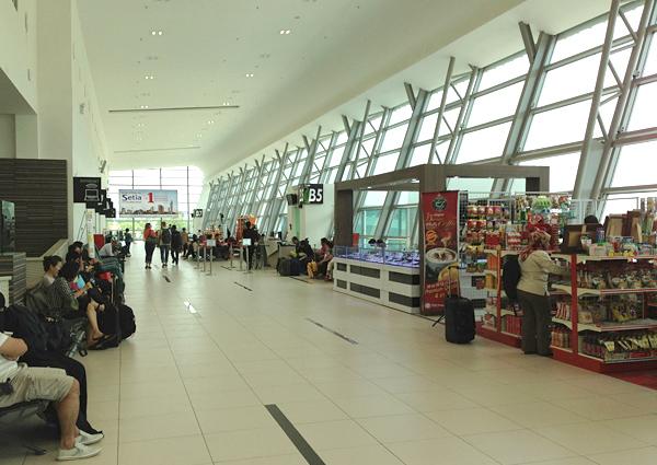 ペナン国際空港の新ターミナル