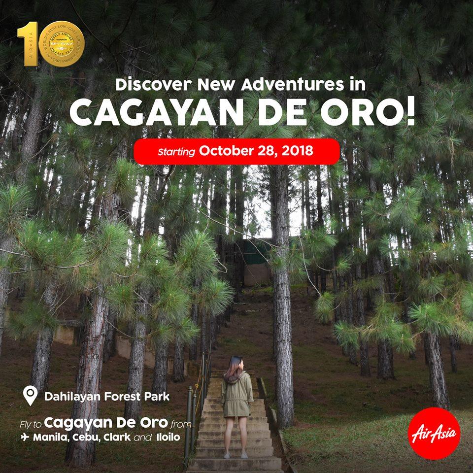 フィリピン・エアアジア、カガヤン・デ・オロ発着の国内線4路線を開設
