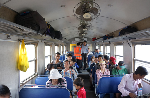 客車内の様子