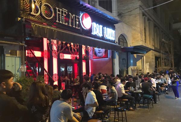 BO HE ME Bui Vien Street