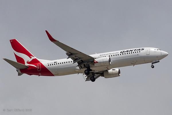 カンタス航空 ボーイング737-800型機