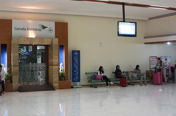 ガルーダ・インドネシア航空のラウンジ