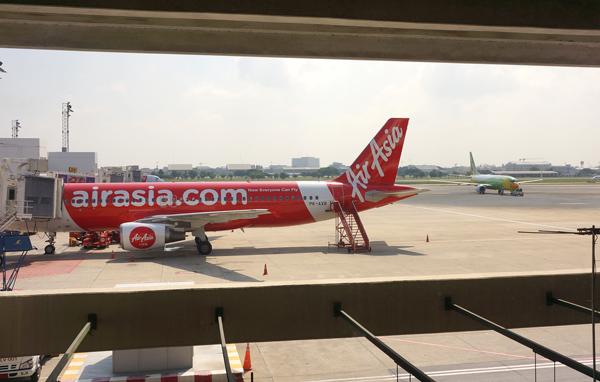 ドンムアン空港の駐機場