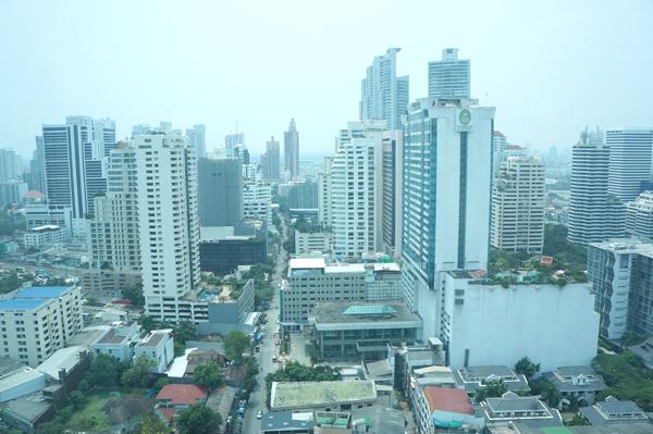 23階の部屋からの景観