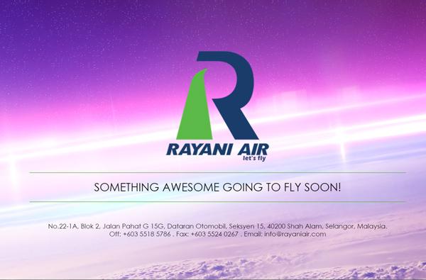 RAYANI AIR(ラヤ二・エア)