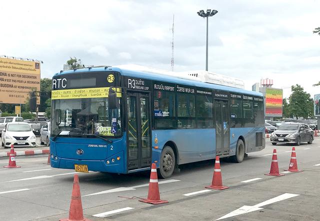 チェンマイの路線バス