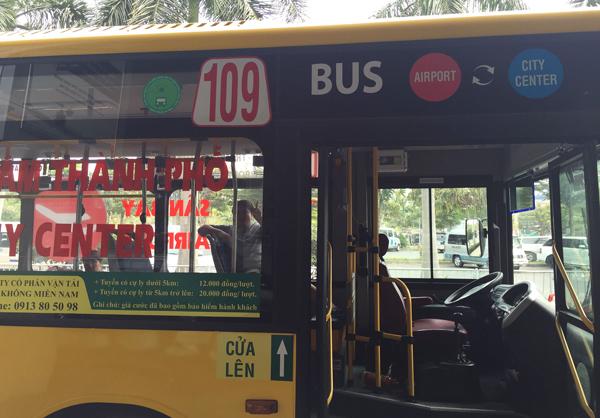 109番バスの車体