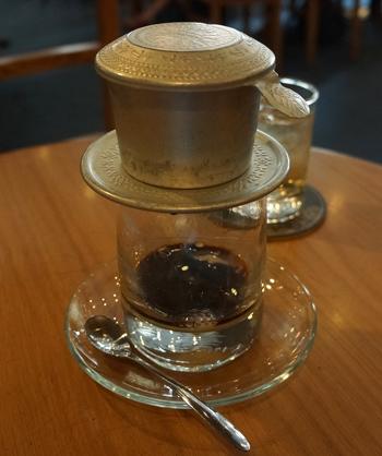 伝統的なベトナムコーヒー