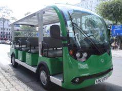 ホーチミンの電気バス
