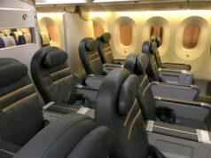 スクートビズ改めスクートプラスの座席