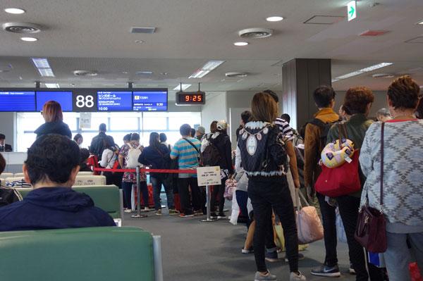 成田空港第2ターミナル 88番搭乗ゲート