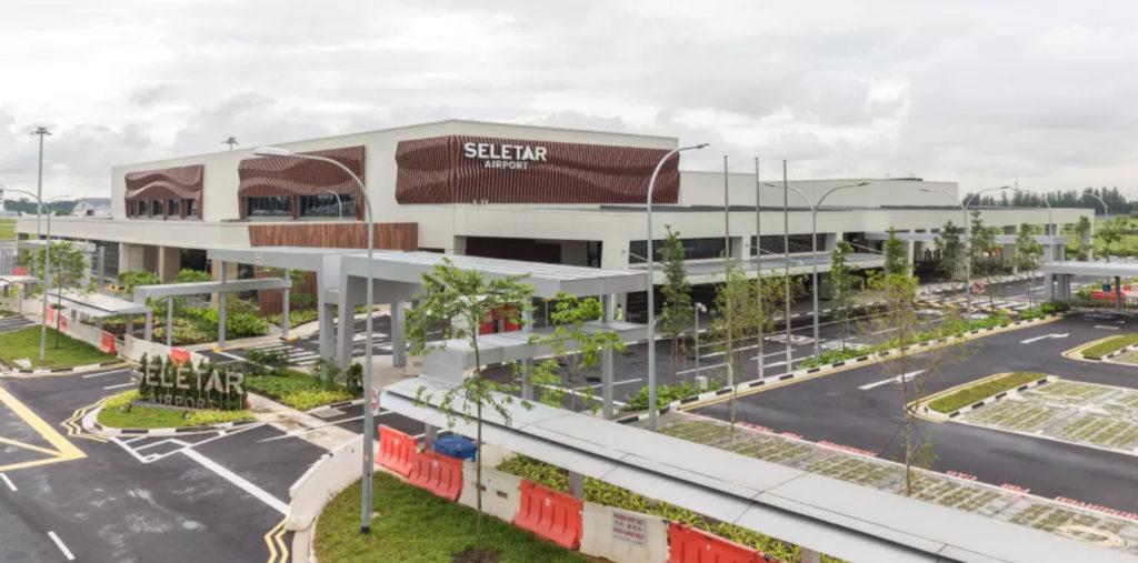 セレター空港の新ターミナル