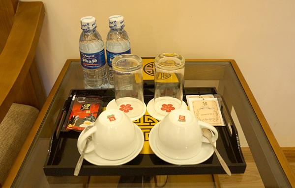 コーヒー、紅茶、ドリンキングウォーターなど