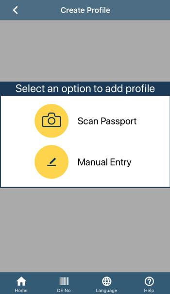 入力方法選択画面