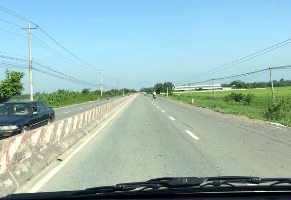カンボジアとの国境へ