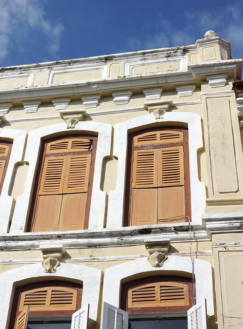 ショップハウス 初期海峡植民地折衷様式
