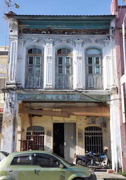 ショップハウス 後期海峡植民地折衷様式