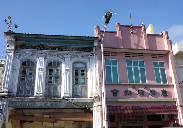 ペナン・ジョージタウンのショップハウス