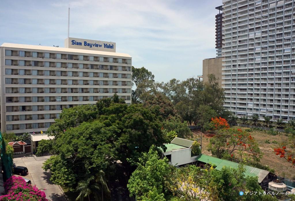 ページ10ホテル・パタヤ客室からの眺め