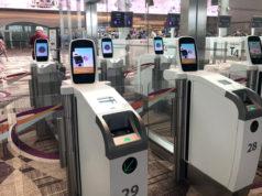 チャンギ空港の自動化ゲート