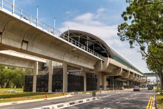 シンガポール MRTトゥアス・リンク駅