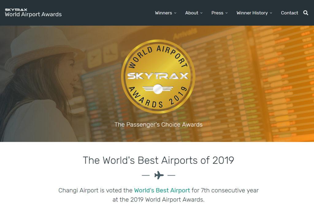 世界空港ランキング2019