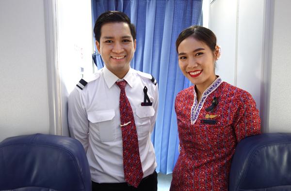 タイ・ライオンエアの客室乗務員