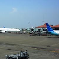 ジャカルタのスカルノハッタ国際空港