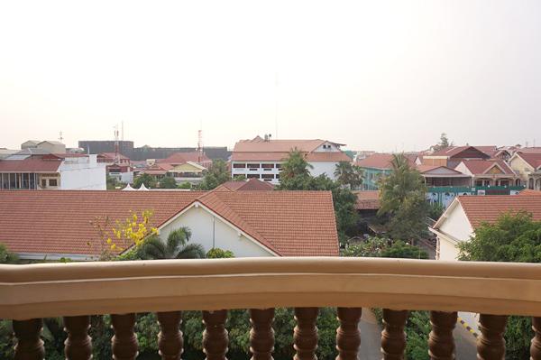 4階の部屋からの眺め