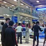 スワンナプーム国際空港2階4番ゲート付近