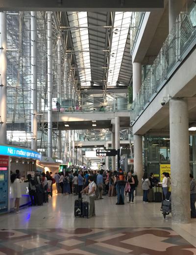 スワンナプーム空港ターミナル内