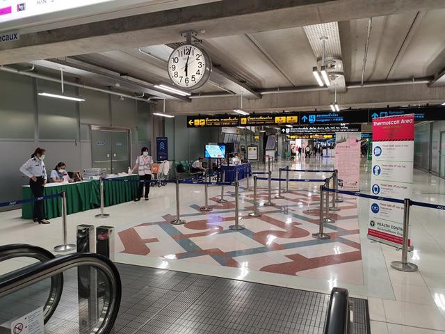 Health Control Suvarnabhumi Airport facebookページより