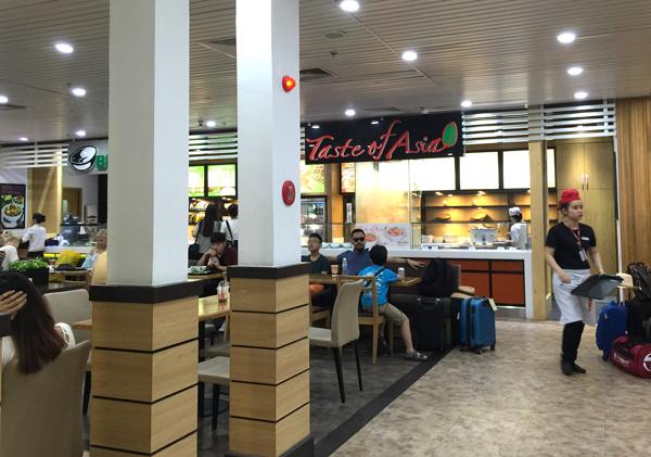 Taste of Asiaというレストラン