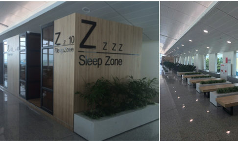 タンソンニャット空港の仮眠・休憩エリア