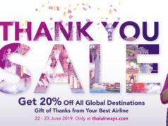 タイ国際航空20%オフセール