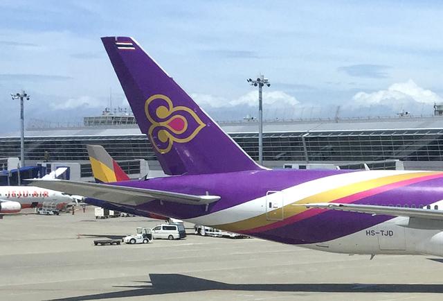タイ国際航空の機体
