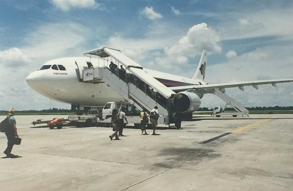 タイ国際航空のエアバスA300型機